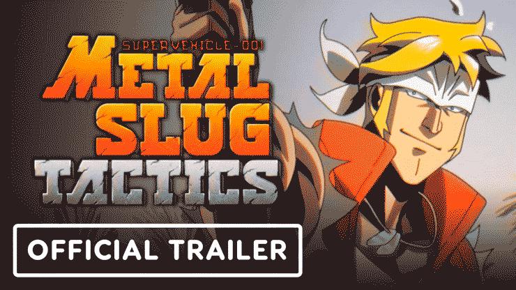 metal slug tactics official trailer image