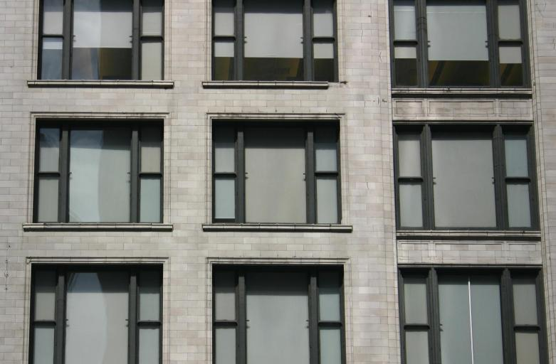 Chicago School window grid