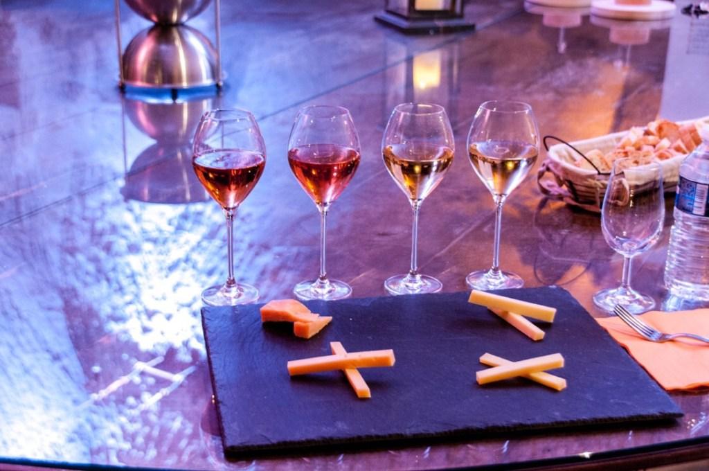 Veuve Clicquot tasting