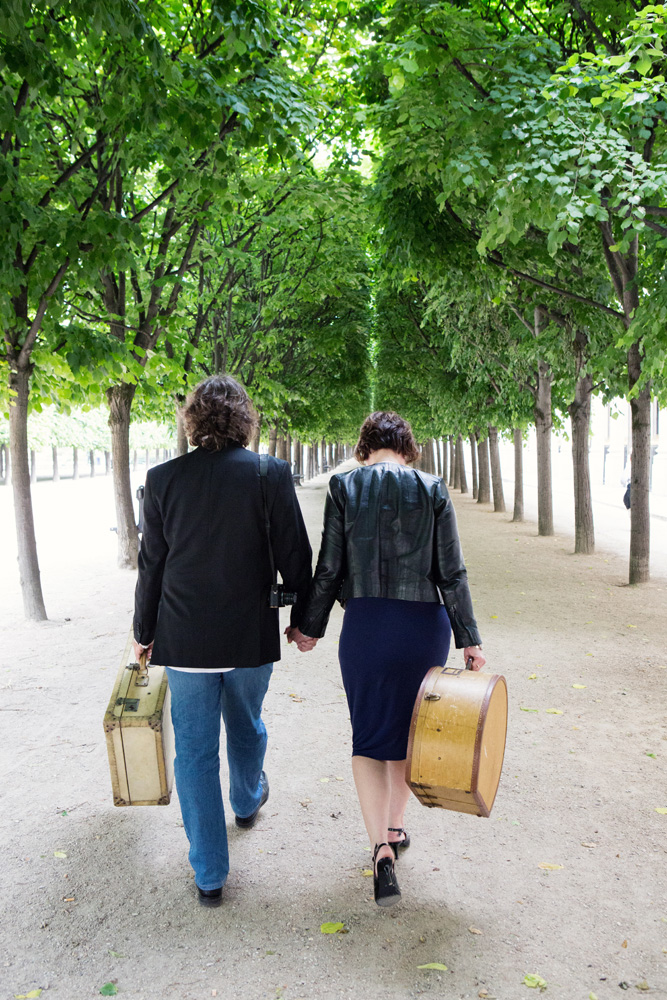 Distant Francophile Palais-Royal