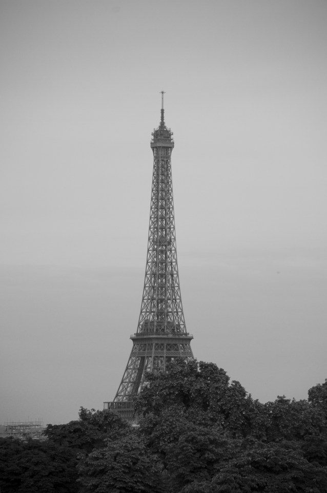 View from one of our favourite Parisian hotels