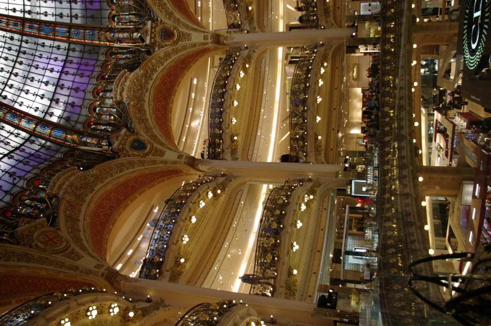 Some of my favourite French Beaty products can be found ar Galeries Lafayette