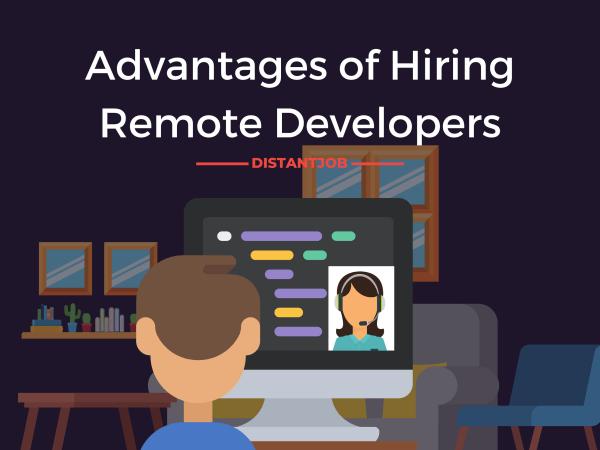 Advantages of hiring remote developers