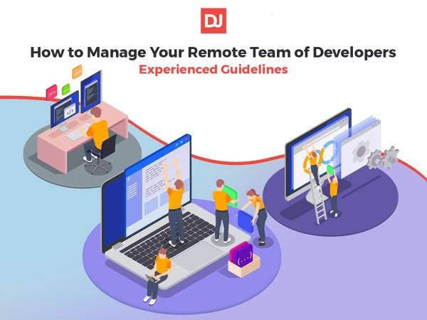 managing a remote dev team