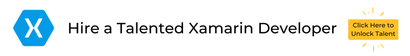 Hire a Talented Xamarin Developer