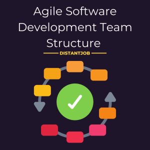 Agile software development team