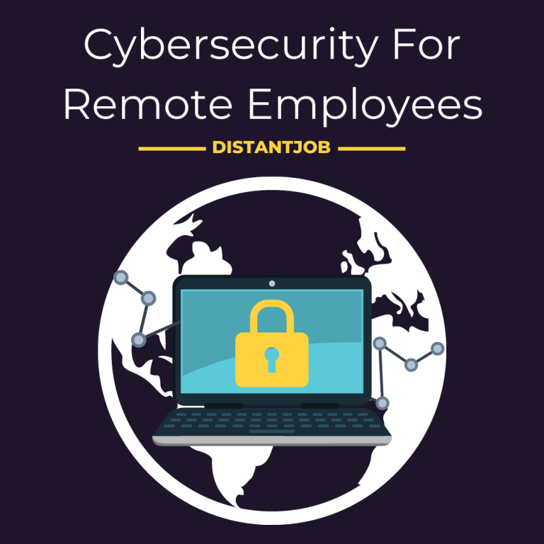 Cybersecurity for remote employees