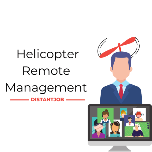 Helicopter remote manager