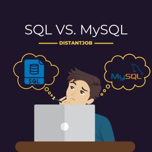 SQL vs MySQL