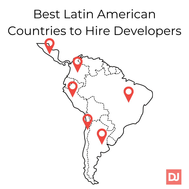 Best countries in Latin America to hire developers