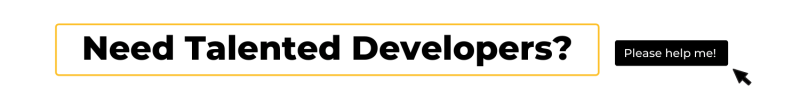 hire talented developers banner