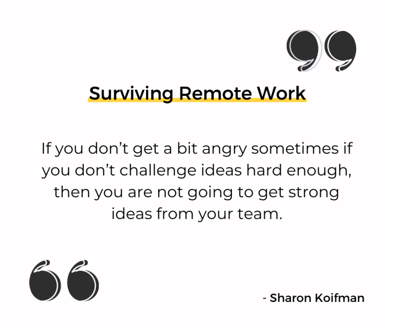 Surviving Remote Work book quote