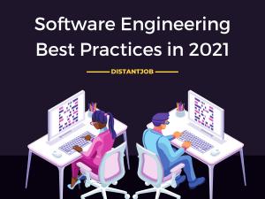 software engineering best practices in 2021