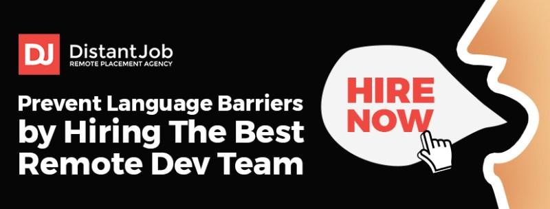 language barrier dev teams