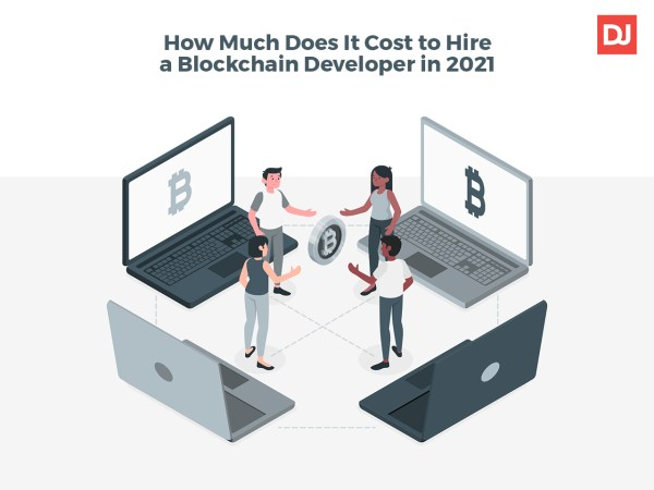 Blockchain developer salary