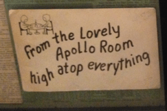 Apollo 7 gag card