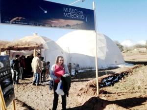 Private meteorite museum in San Pedro, Chile.