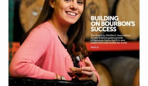 Building on Bourbon's Success cover article for Business Lexington