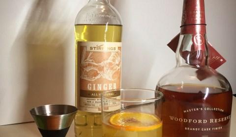 Orange Brûlée Ginger Sour