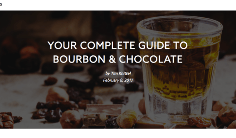 Distiller.com Your Complete Guide to Bourbon & Chocolate