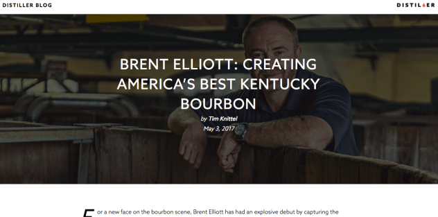 Brent Elliott: Creating America's Best Kentucky Bourbon