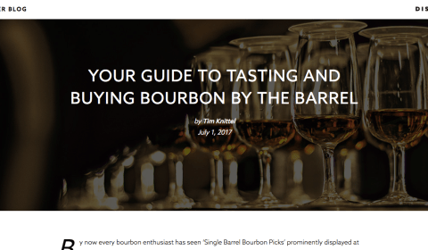 Your Guide to Tasting and Buying Bourbon by the Barrel