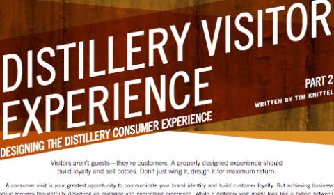 Designing the Distillery Consumer Experience