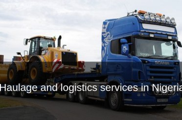 Haulage, trucking and logistics services  in Nigeria
