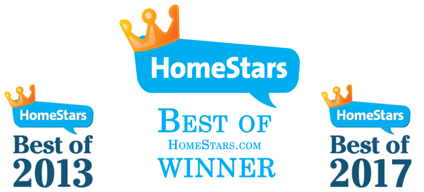 HomeStars Best Of Award winner 2013 & 2017
