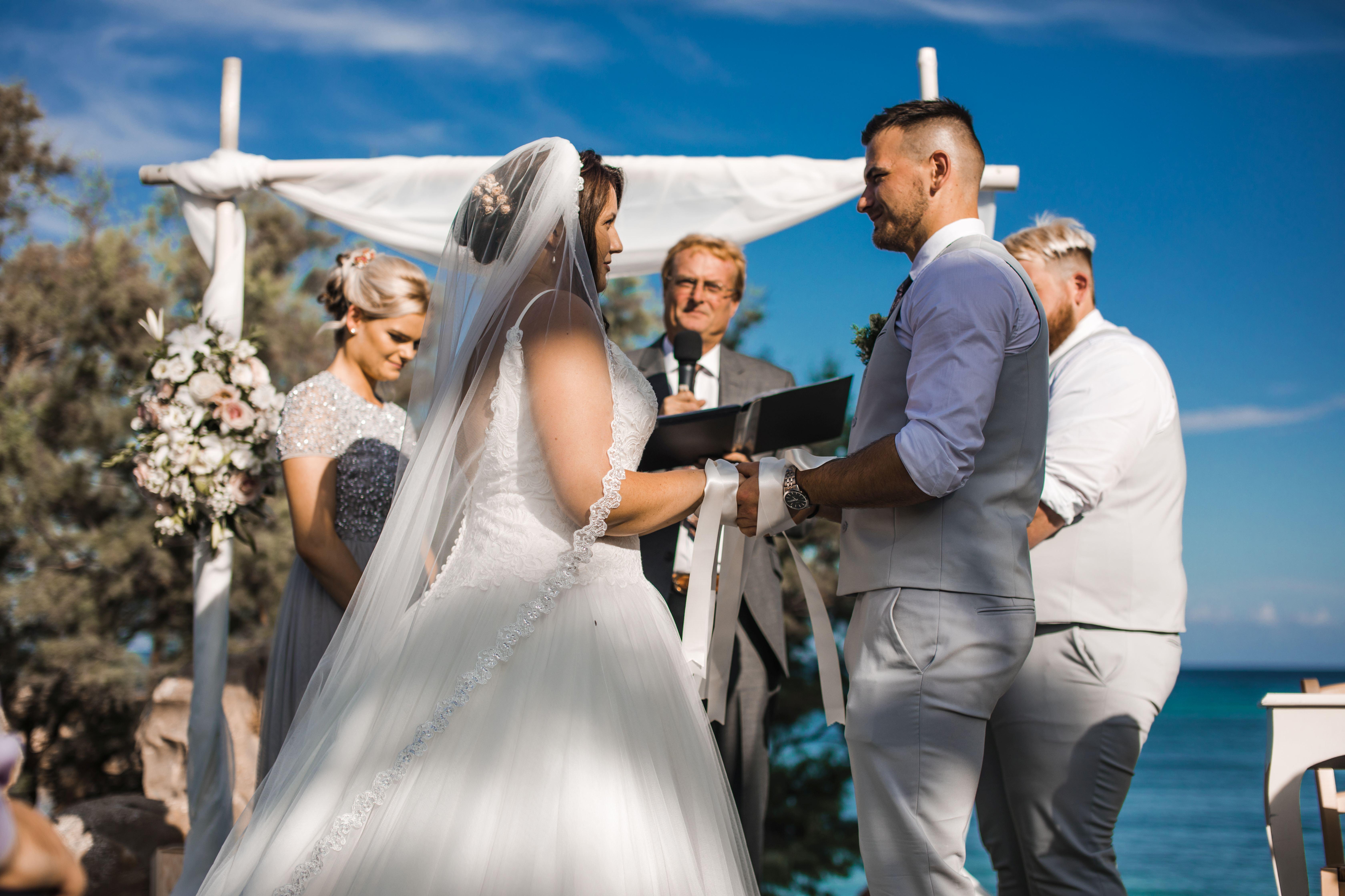 Our wedding celebrants