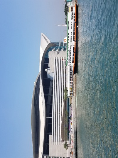 One of the sights from a recent trip to Hing Kong
