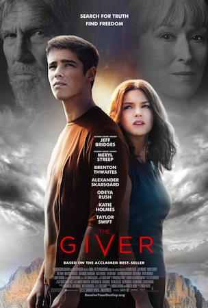 the giver afiche