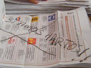 El panorama del voto nulo para la elección presidencial de 2012 en México