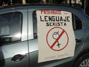 La mujer y el plátano: sexismo en el lenguaje