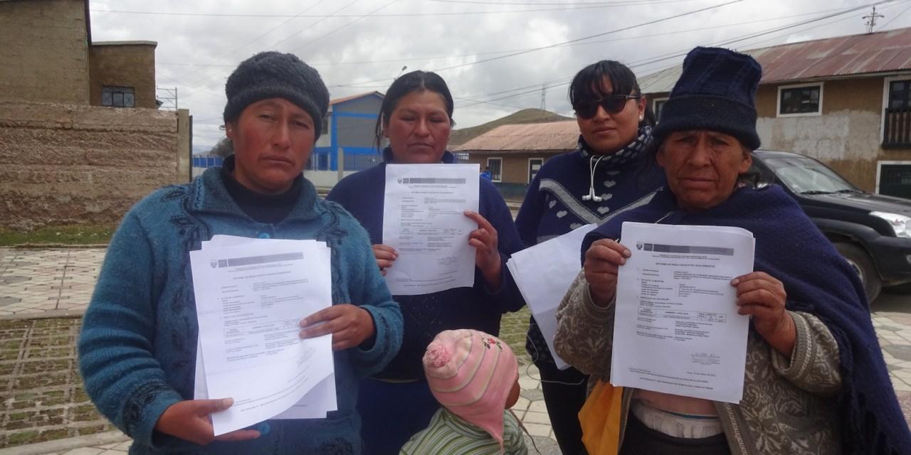 Simón Bolívar: la comunidad peruana que bebe plomo