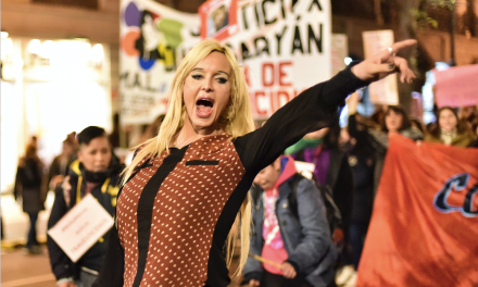 "Argentina gritó ""basta de travesticidios"""
