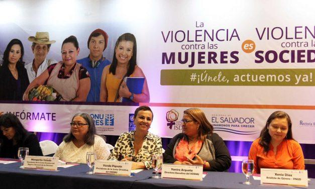 25N en El Salvador, el país donde cada 15 hora hay un femicidio