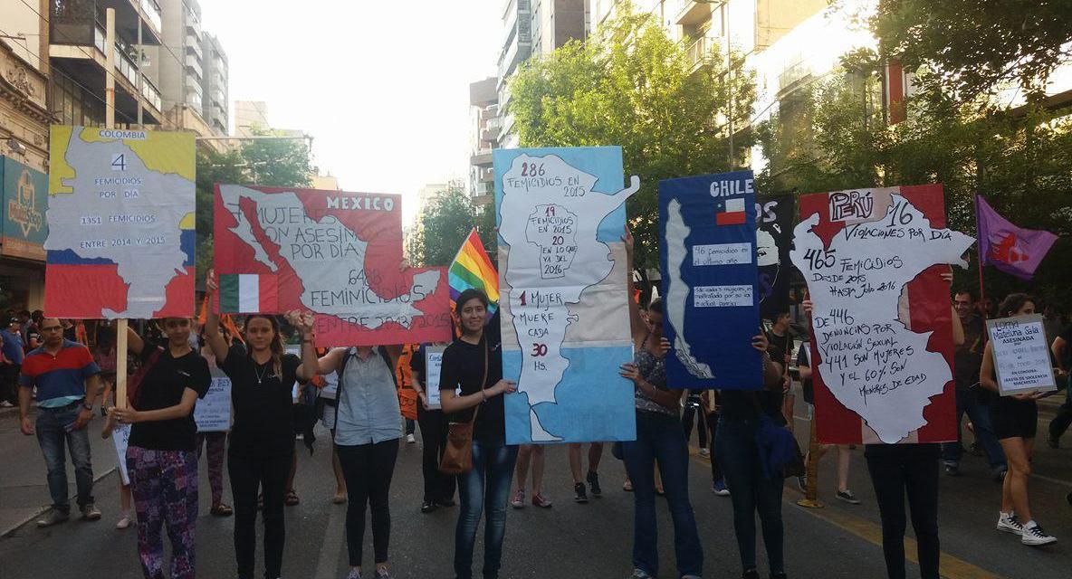 25N Argentina: Córdoba marchó con aires de lucha