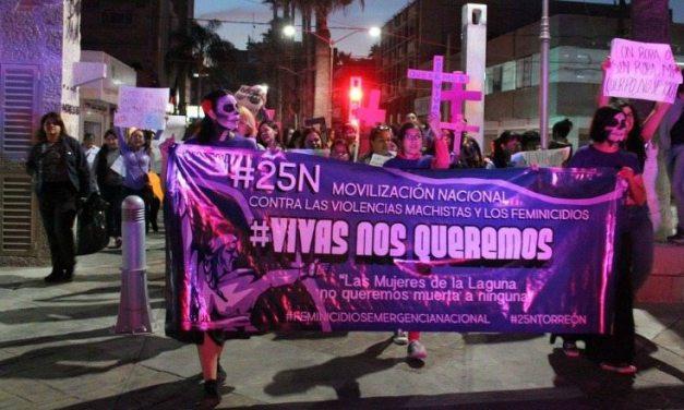 Sí, el machismo mata: 25N en Torreón