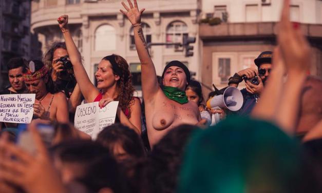 #Argentina y un tetazo a la violencia machista