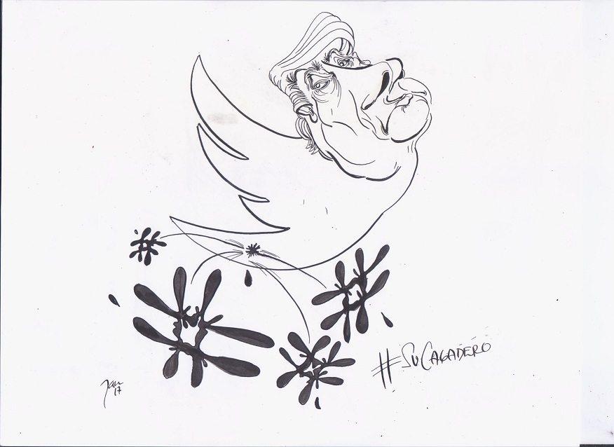 La paloma de Trump