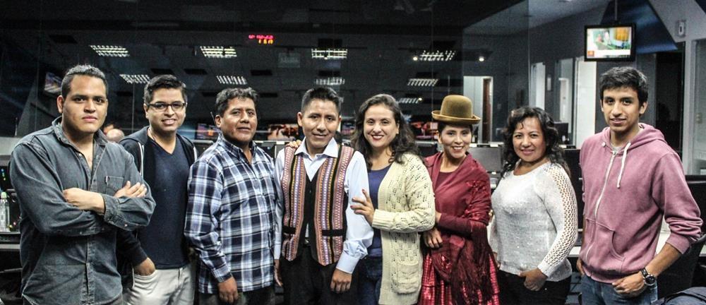 Jiwasanaka: así es el primer noticiero aimara en Perú
