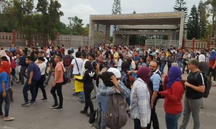 En Honduras, los estudiantes también sufren el país represivo