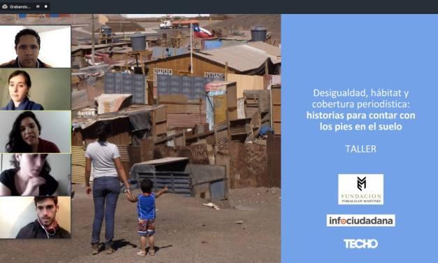 Periodismo desde y sobre las periferias, una sesión de aprendizaje con Florencia Amaro y Victoria Rodríguez