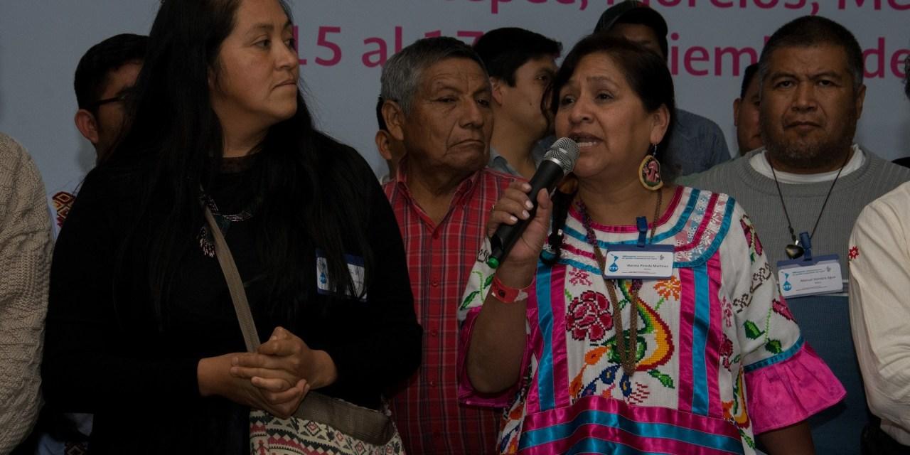 Gestores comunitarios del agua en México buscan organizarse tras encuentro en Morelos