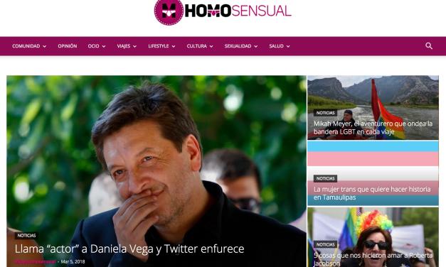 Soy Homosensual: la apuesta por noticias LGBT positivas para México y América Latina