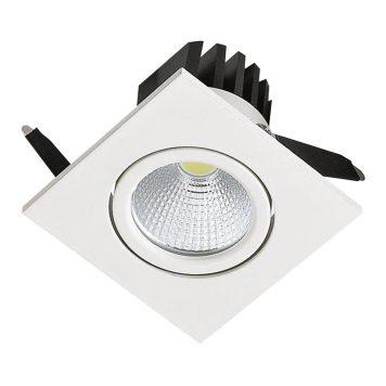 Spot LED downlight 3W carré blanc
