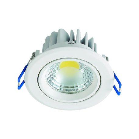 Spot LED downlight 5W rond blanc