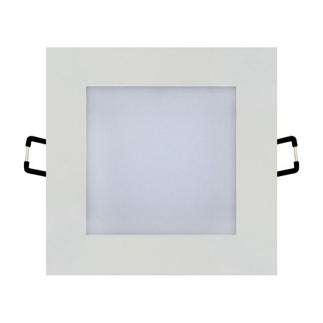 Spot LED Downlight 6W carré blanc