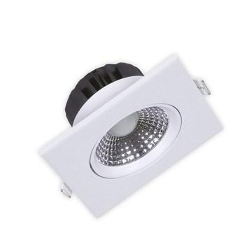 Spot LED carré blanc